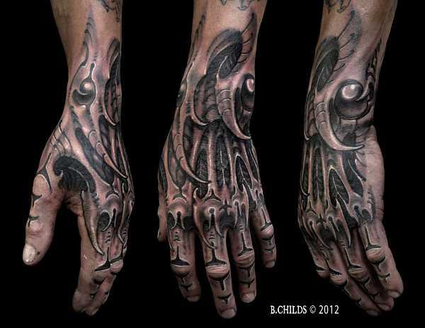 Geniale Hand Tattoos Tattoo Spirit