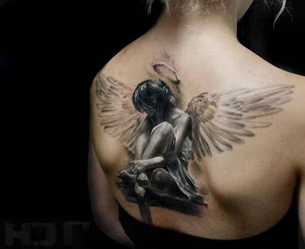Eindrucksvolle Flügel Tattoos Tattoo Spirit