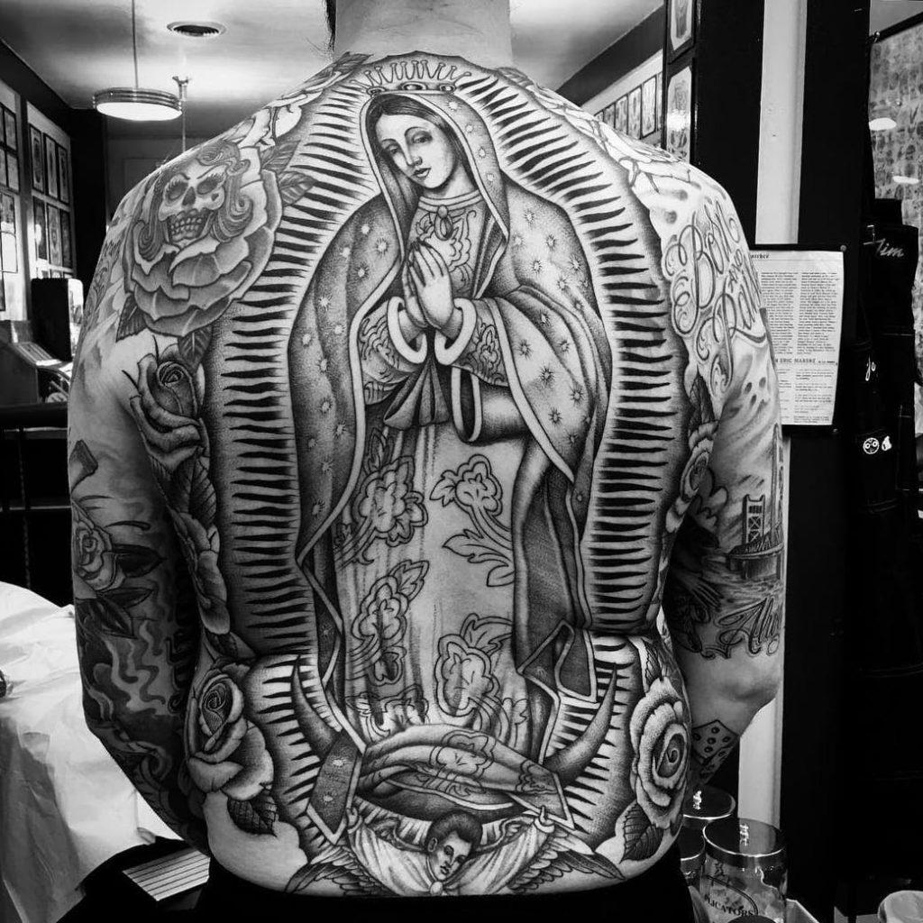 Jungfrau Maria Tattoo Spirit