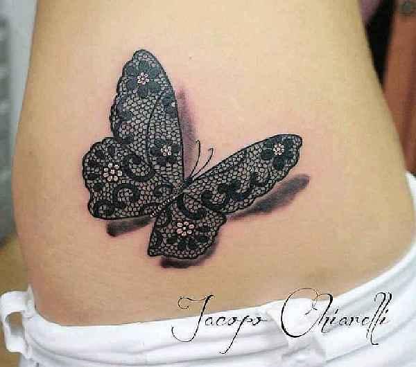Steht tattoo schmetterling wofür ein Tattoo