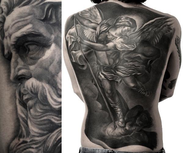 Tattoo motive engel Engel Tattoos