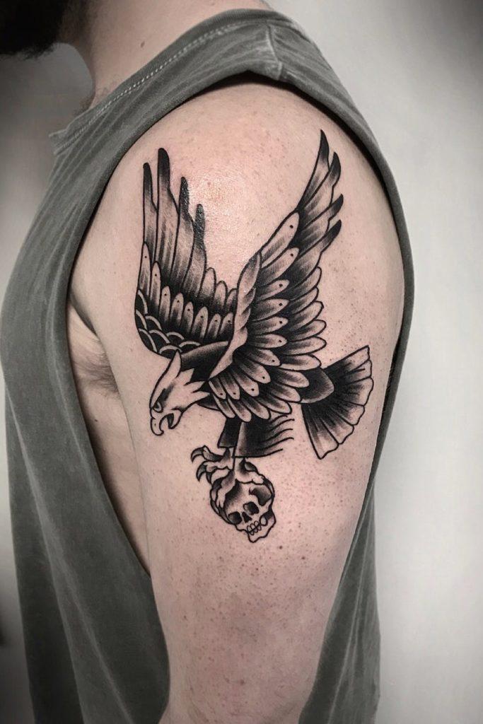 Adler Tattoo Vorlage In Grau Home Tattoo Moose Art 22 Tattoo