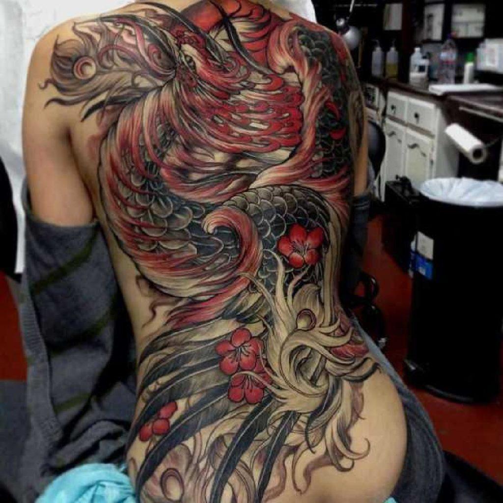 Magische Phönix Tattoos Tattoo Spirit