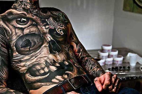 Abgefahrene Brusttattoos Für Männer Tattoo Spirit