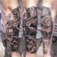 Tattoo, Idee, Schiff, Tintenfisch, Unterarm, Männlich