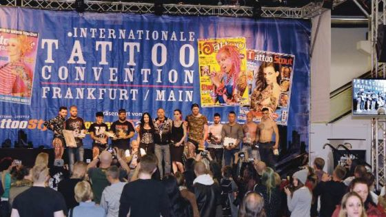 Tattoo Messe, Convention, People