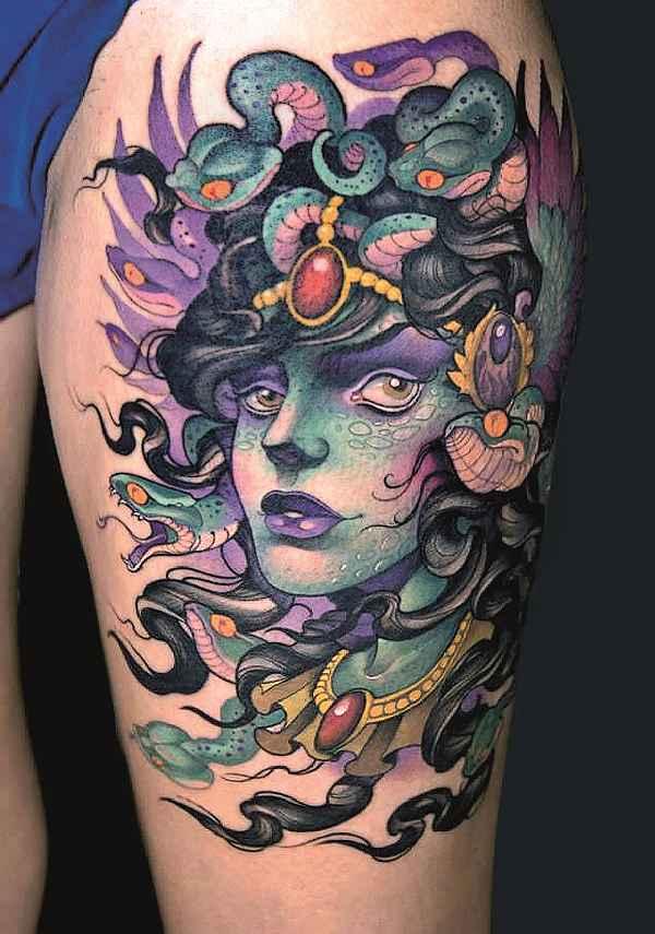 Bedeutung Der Medusa Tattoos Tattoo Spirit