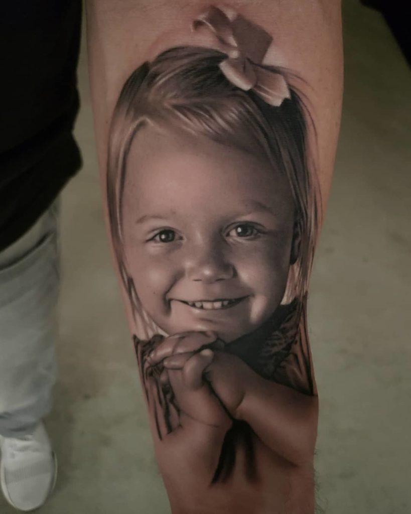 Kinder Portraits Aus Einer Anderen Dimension Tattoo Spirit
