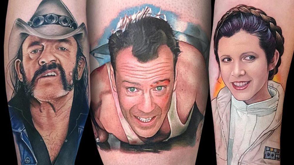 Tattoo, Idee, Portrait, Movie, Schauspieler