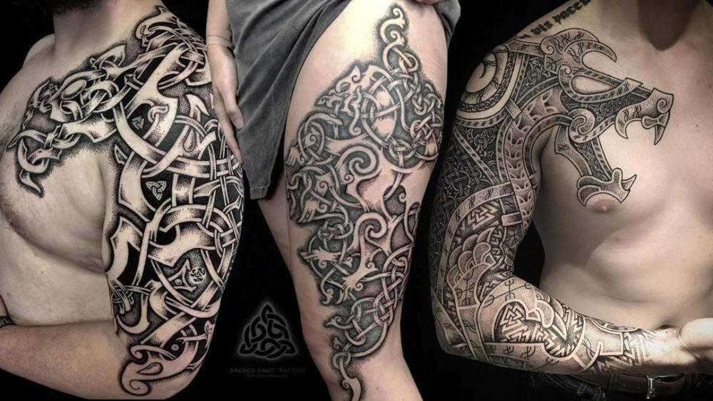 Celtic Tattoo Motive