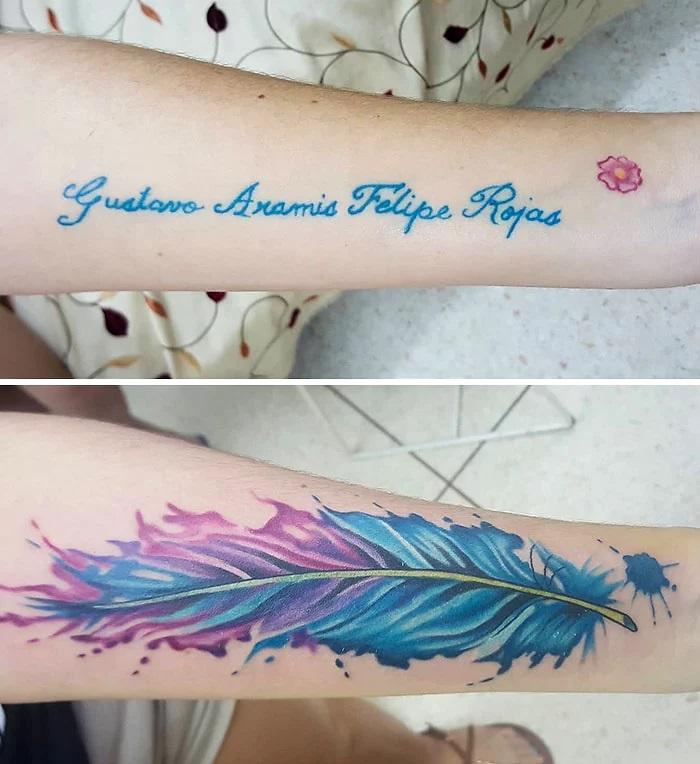 Für frauen sprüche tattoo Tattoo am