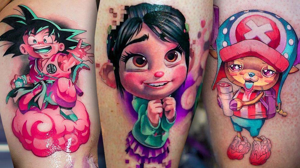 Tattoo, Idee, Comic, Newschool, Movie