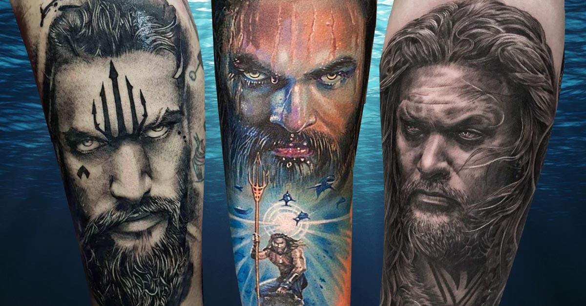 Jason Aquaman Momoa Feiert Geburtstag Tattoo Spirit