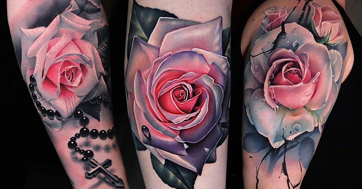 rosen tattoos in unserer galerie der woche tattoo spirit