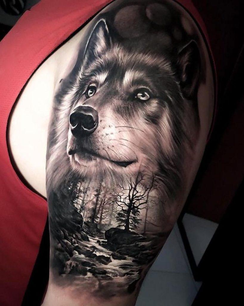 Mit tattoo frau bedeutung wolfskopf 7 Gute