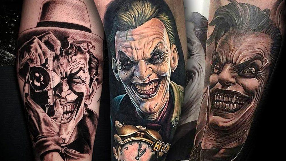 Joker Tattoo Vorlage 9