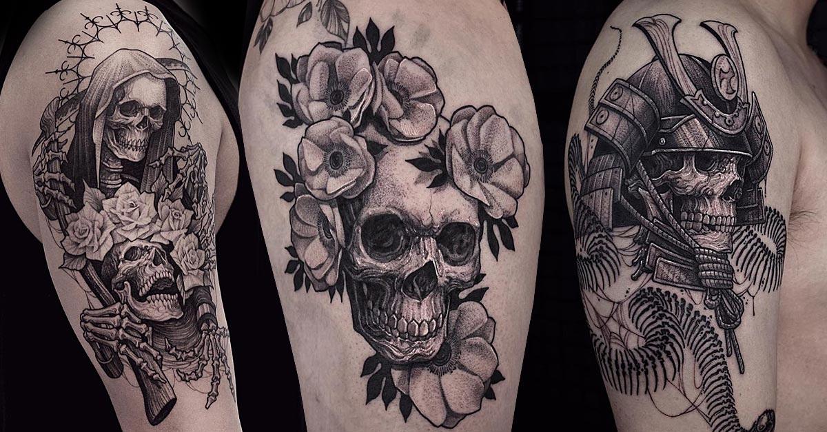 totenköpfe tattoo vorlagen