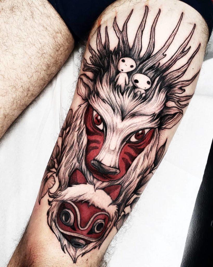 Top 57 Anime Tattoo Ideas 2021 Inspiration Guide 8