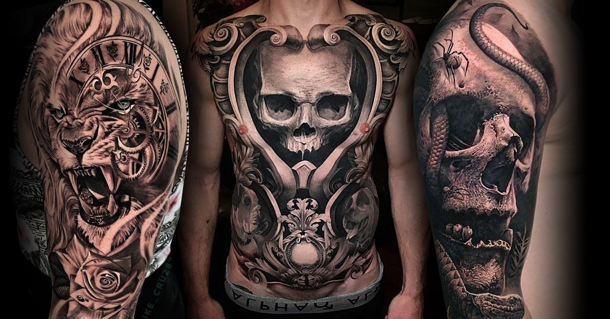 Männer motive die tattoo besten für Tattoo Ideen