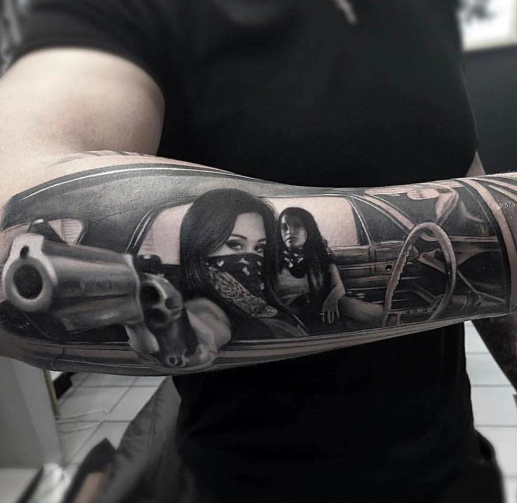 Vorlagen männer tattoo 37 Oberarm