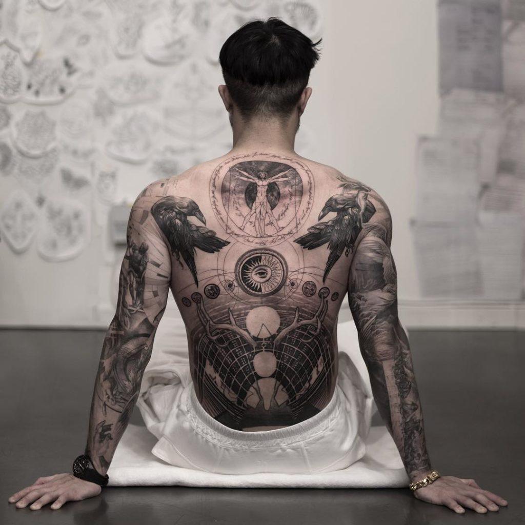 Motive dezente männer tattoo Tattos &