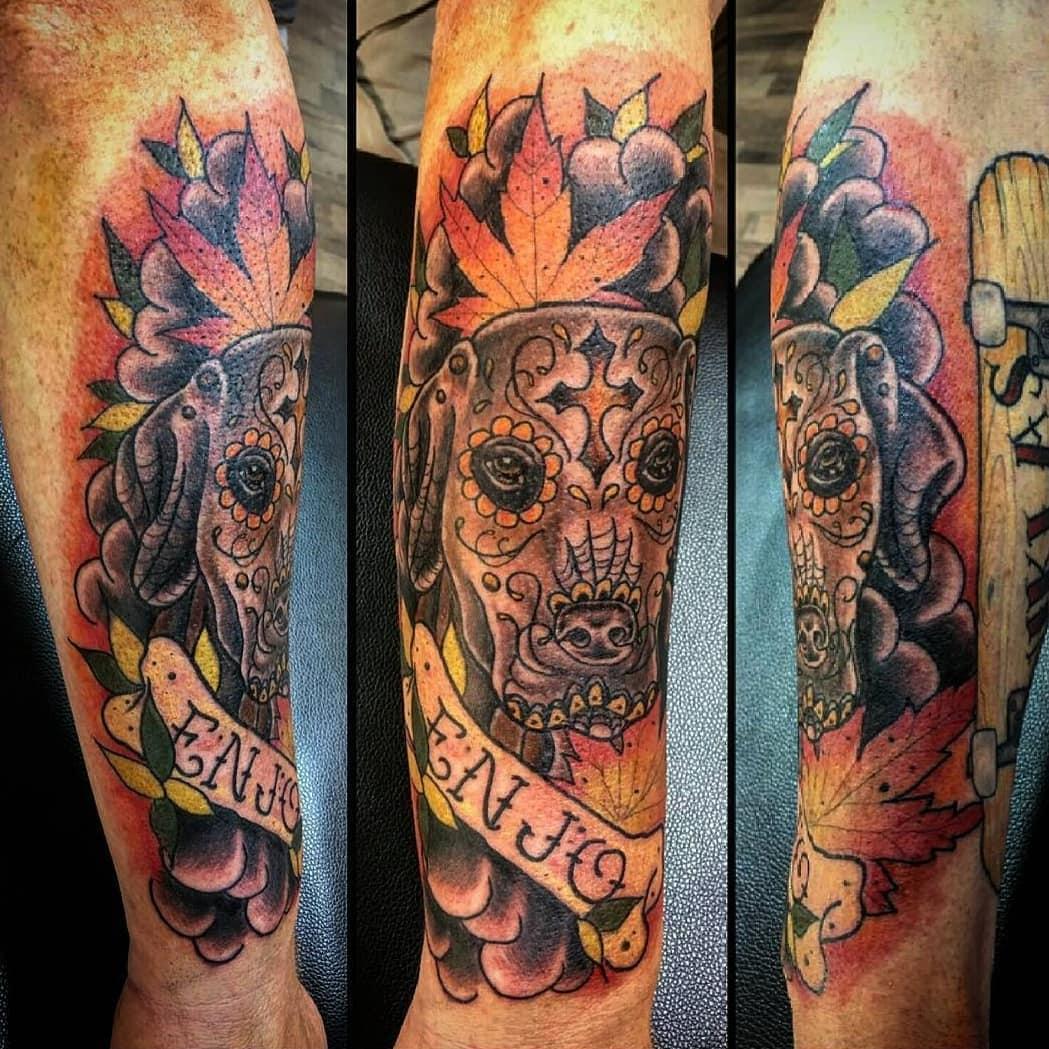 Earl Gray Teebeutel Tattoo in Duisburg - Tattoo Spirit
